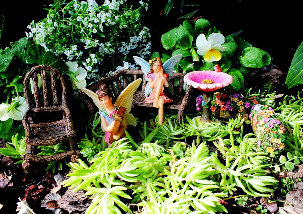 Use Craft Sticks to Transform Your Fairy Garden