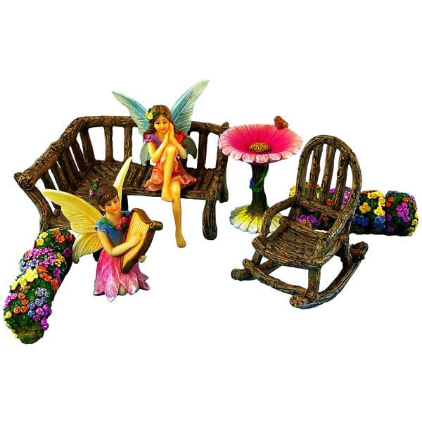 Fairy Garden Corner Set