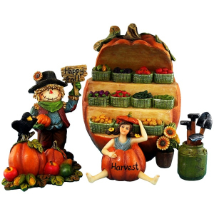 Fairy Garden Pumpkin Set