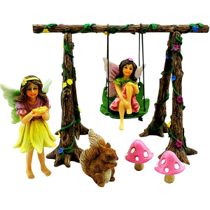 Fairy Garden Swing Set