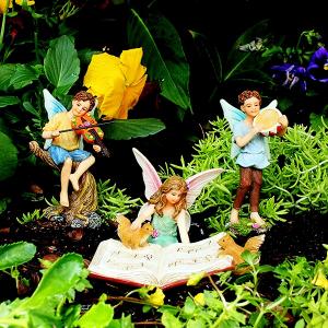 Fairy Garden Musician Set