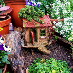 Fairy Garden Tree House 2