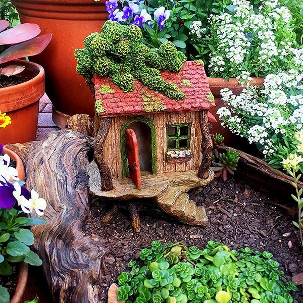 Fairy Garden Tree House 2