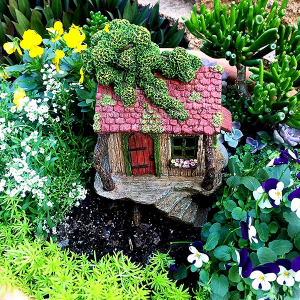 Fairy Garden Tree House Set 2