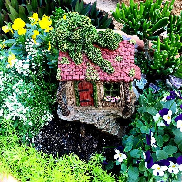 Fairy Garden Tree House Set 2