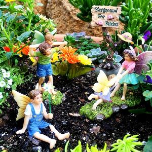 Fairy Playground Set - Fairy Garden Accessories