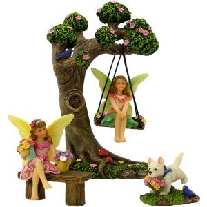 Tree Swing Set